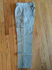 Wrangler Boys Cargo Pants With Adjustable Waist Size 14 Slim