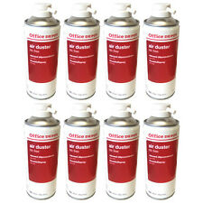 8 x Compressed Air Duster Spray Can Laptop Keyboard Dust Blower Cleaner 400ml