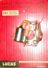 Lucas Tune Up Kit (Condenser & Contact Set). 67-69 Toyota Corolla 1100 TK1 ---->