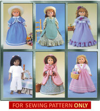 SEWING PATTERN! MAKE DOLL CLOTHES! FITS AMERICAN GIRL ADDY~SAMANTHA!