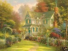 """Thomas Kinkade """" Victorian Garden Ii"""" Two (2) Postcards New"""