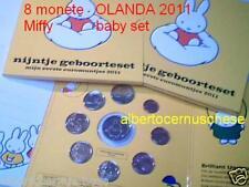 2011 OLANDA 8 monete EURO Pays Bas Miffy baby nijntje
