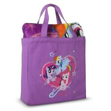 My Little Pony Silk Touch Throw and Canvas Tote Set ~ NWT