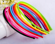 30pcs Women Girl Plastic Headband Skinny Thin Hair Band Hairpin Head wrap Lot US
