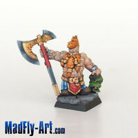 Dwarf Wild Chieftain #2 MASTERS6 painted MadFly-Art