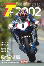 Isle of Man TT - Official Review 2002 (New DVD) Anstey Jefferies Lougher Fisher