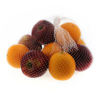 """Royal 24"""" Clear Plastic Mesh Produce Bags-Seafood, Fruit Vegetable, Pack of 100"""