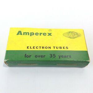 "Vtg ""35 Years"" Amperex ECC83/12AX7 12AT7 12AU7 Empty Display 5 Vacuum Tube Box"