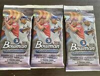 2018 Bowman Platinum Baseball - 1 VALUE FAT PACK (Ohtani, Greene, RCs?) Rare!
