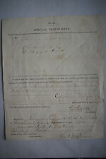 1861 Civil War Requisition SIGNED BY TWO SOLDIERS WHO DIED IN WAR Libby Prison