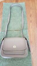 💙 Coach Rambler Brown Leather Brass Saddle Flap Handbag Bag Purse 89127