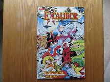 1988 EXCALIBUR THE SWORD IS DRAWN GRAPHIC NOVEL SIGNED ALAN DAVIS ART,WITH POA