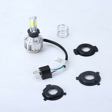 4000LM 34W H6 H4 Hi/Lo 360° LED Motorcycle Headlight Bulb Fog Lamp BA20D 6500K