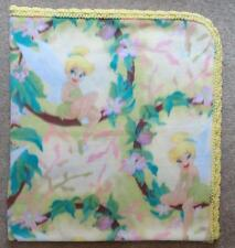 """TODDLER/TWIN BLANKET - SPRING AND TINKERBELL - 48""""x54"""""""