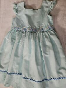 Matilda Jane Girls Mint Green Dress Size 10 Excellent Used Condition