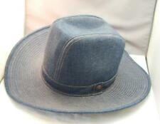 Vintage Levi & Strauss Denim Cowboy Hat 7 1/8 NEW