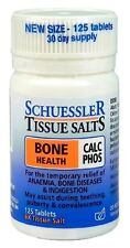 Schuessler Tissue Salts Calc Phos Bone Health 125 Tablets