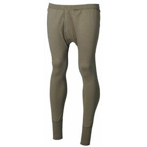 Bw sous-Vêtements Long Olive Armée Coton Bundeswehr Homme Pantalon Neuf