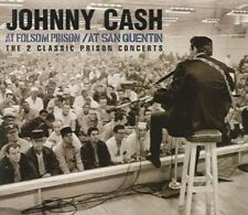 at Folsom Prison/at San Quentin 0828767665825 by Johnny Cash CD