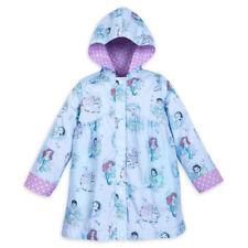 Disney NWT Animator Princess Reversible Rain coat jacket 3T 3 NEW Ariel Mulan