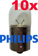 Philips 10 Stück R10W Premium 10 Watt 12 Volt 12814 Licht Autolampe Leuchte
