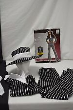 Mob Wife Halloween Costume Adult Sz Small 2-4 Pretend Fantasy Complete