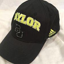 BAYLOR BEARS Black Neon Snap back Cap HAT ADIDAS
