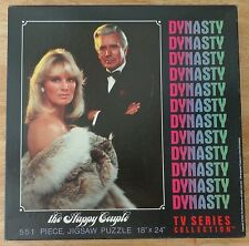 Dynasty TV Show Series The Happy Couple Blake Krystle Jigsaw Puzzle 1984
