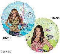 Hannah Montana / Miley Cirus Party Balloon
