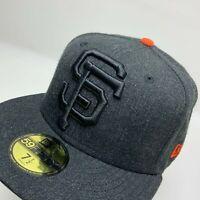 New Era Cap MLB San Francisco Giants  Black Orange 59FIFTY Hat