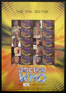 GB SMILERS Dr WHO The 5th Doctor 25/1000 BC061 Ltd Ed at £8.50 Face Value DF855