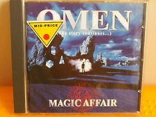 CD 40: 1 CD OMEN (The story continues...) MAGIC AFFAIR 1994 AKROPOLIS MUSIK & Fi