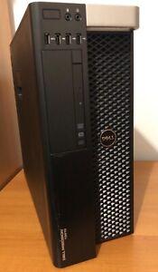 DELL PRECISION T3610 Xeon E5-1620v2 @3.7GHZ 16GB 256GB SSD AMD FirePro W5000 W10