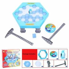 New Save the Penguin Ice Kids Puzzle Game Break Ice Block Hammer Trap Party Toy