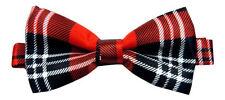 Cravates, nœuds papillon et foulards rouges en polyester pour homme
