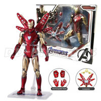 """Armored Iron Man MK85 Avengers Endgame Marvel 7"""" Action Figure Toy Collection"""
