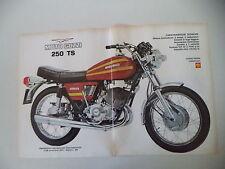 advertising Pubblicità 1973 MOTO GUZZI TS 250