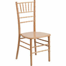 Flash Furniture Wood Chiavari Chair - Natural 1100-Lb. Capacity Model# XSNATURAL
