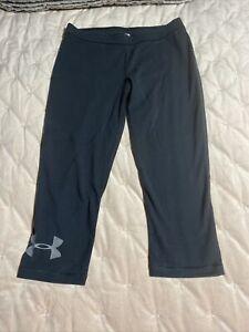 ladies under armor Capri pants size medium