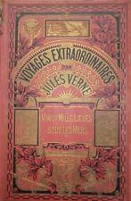 Vingt mille lieues sous les mers Jules Verne Hetzel illustrations De Neuville
