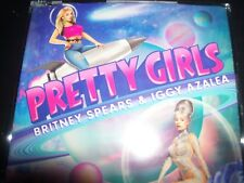 Britney Spears & Iggy Azalea Pretty Girls EU CD Single – New (Not Sealed)