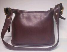 Coach Vintage Brown Lether Legacy Shoulder Handbag! #9966