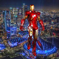 "1/6 Iron Man L.A. Backdrop 15""x15"" - For 1/6 Iron Man Stark Mark 50 47 Figures"