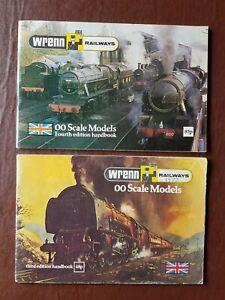 Wrenn Railways Catalogue 3rd & 4th Editions - 1977/78 - OO/HO Gauge model trains