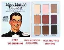 TheBALM Meet Matt(e)Trimony-9 Shadow Palette-100% AUTHENTIC GURANTEED-US SHIPPER