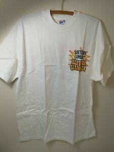 Hanes Beefy T-Shirt Men's XL White Southern Comfort Alabama Slammer Liquor