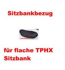 Sitzbank Sitz Bank Kunstleder Schwarz für Piaggio TPH TEC2T 50ccm Bj.2000