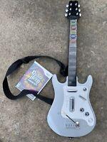 Nintendo Wii Psyclone Essentials (Guitar Hero) Guitar W/GH Smash Hits PSE6300