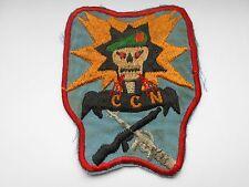 American  Vietnam war patch green beret  CCN  vintage SOG  cloth patch
