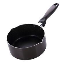 Stockpot Saucepan Milk Pan Soup Butter Melting Pot Inner black outer brown